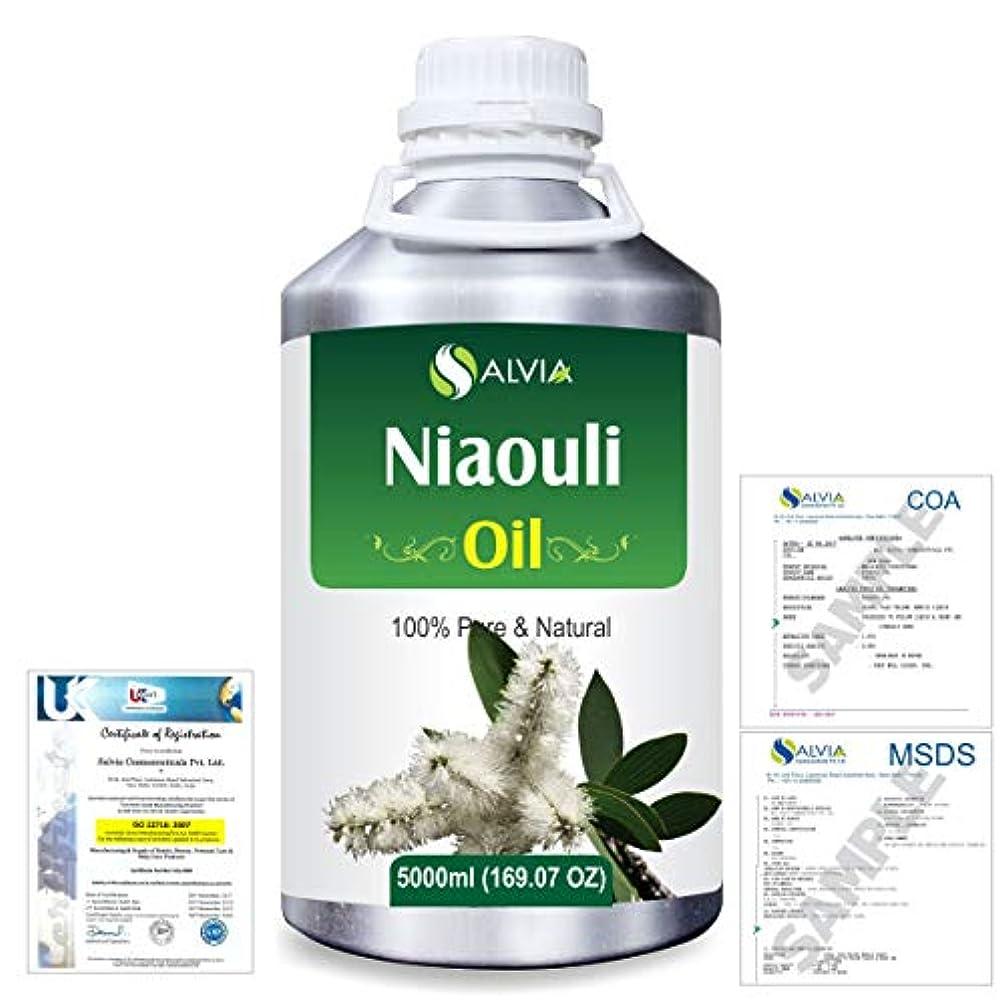 もつれ奇妙なパーツNiaouli (Melaleuca Viridiflora) 100% Natural Pure Essential Oil 5000ml/169fl.oz.