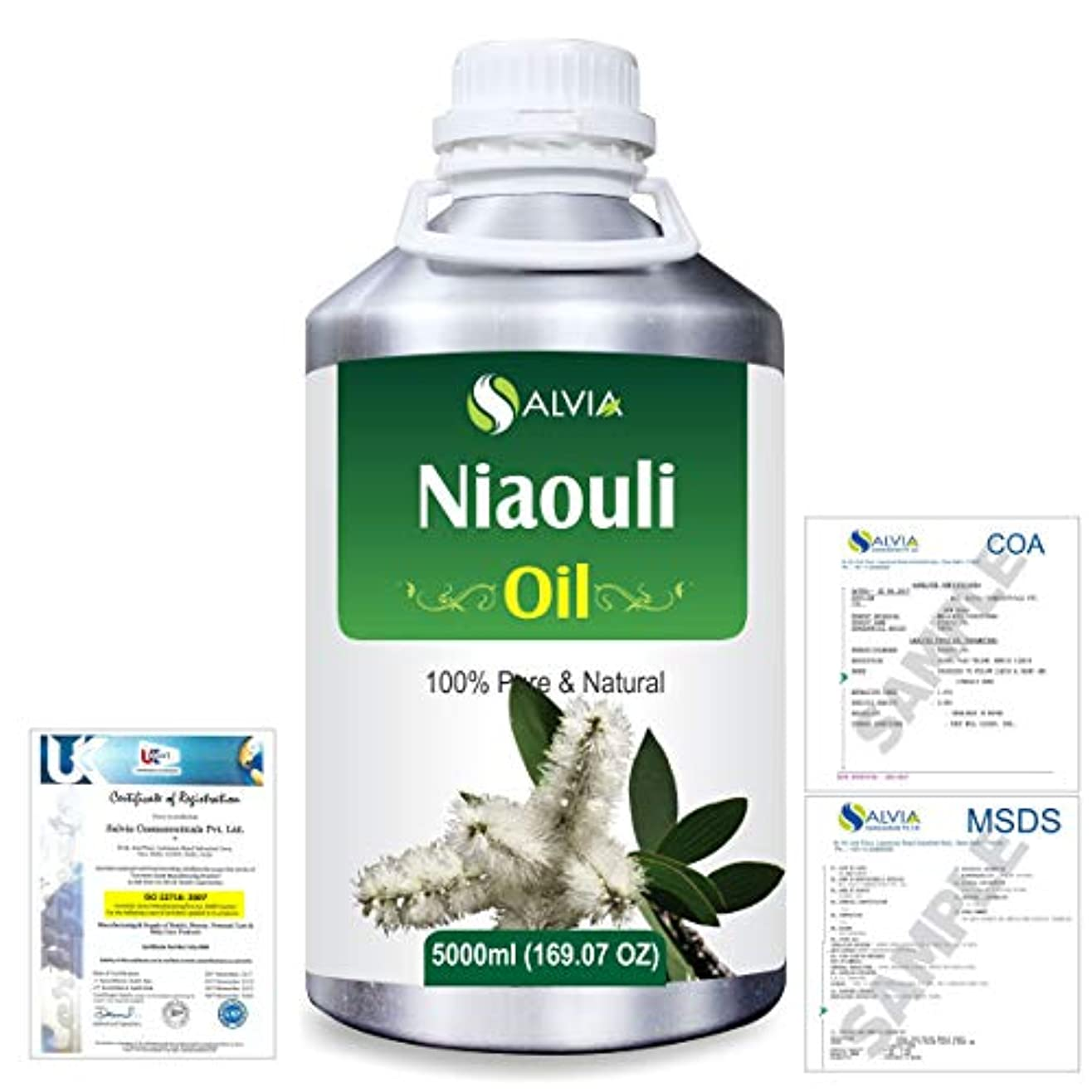 トーン症状評決Niaouli (Melaleuca Viridiflora) 100% Natural Pure Essential Oil 5000ml/169fl.oz.