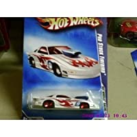 2009 Hot Wheels Hot Wheels Racing White Pro Stock Firebird w/ Red 5SPs #072 (06 of 10) 1:64 Scale