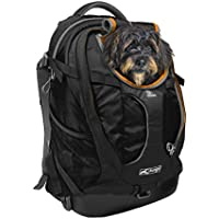 Kurgo G-Train K9 Dog Backpack, Black