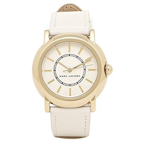 [マークジェイコブス] 時計 MARC JACOBS MJ1449 COURTNEY コートニー レディース腕時計 ホワイト/ゴールド/ホワイト [並行輸入品]