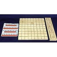 ★手作り将棋セット ヒノキ製 無塗装 *コマの名前を自由に作れる*
