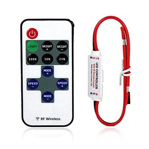 11キー LED 単色 コントローラー テープライト 調光・...