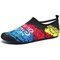 LIYUEJING Water Shoes Beach Surf Diving Swim Running Snorkeling Barefoot Skin Shoes, Home Slipper Yoga Socks Neoprene Rubber Sole Aqua Socks