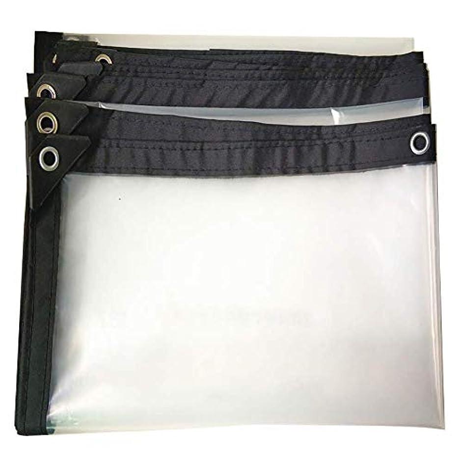 傷つきやすい不完全甘い12J-weihuiwangluo 屋外テント厚い防水透明防水防水シート雨布テント (Color : A, サイズ : 3×5m)