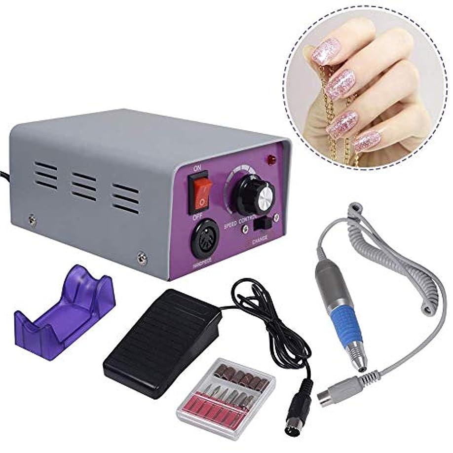話すアドバンテージ悪因子25,000 rpmネイルツール電動ネイルドリル機ネイルアート機器マニキュアキットペディキュア機器機器