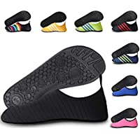 Water Shoes for Men and Women Barefoot Running Shoes for Beach Swimming - Quick Dry Aque Socks for Surfing Exercise