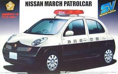 スペシャルビークル No.12 日産 新型マーチ パトカー