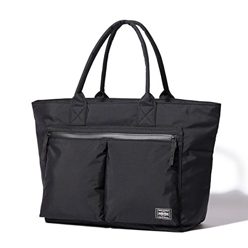 (ヘッド・ポーター) HEADPORTER YUKON TOTE BAG (L) BLACK