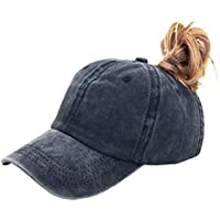 YCMII Ponytail Baseball Hat Women