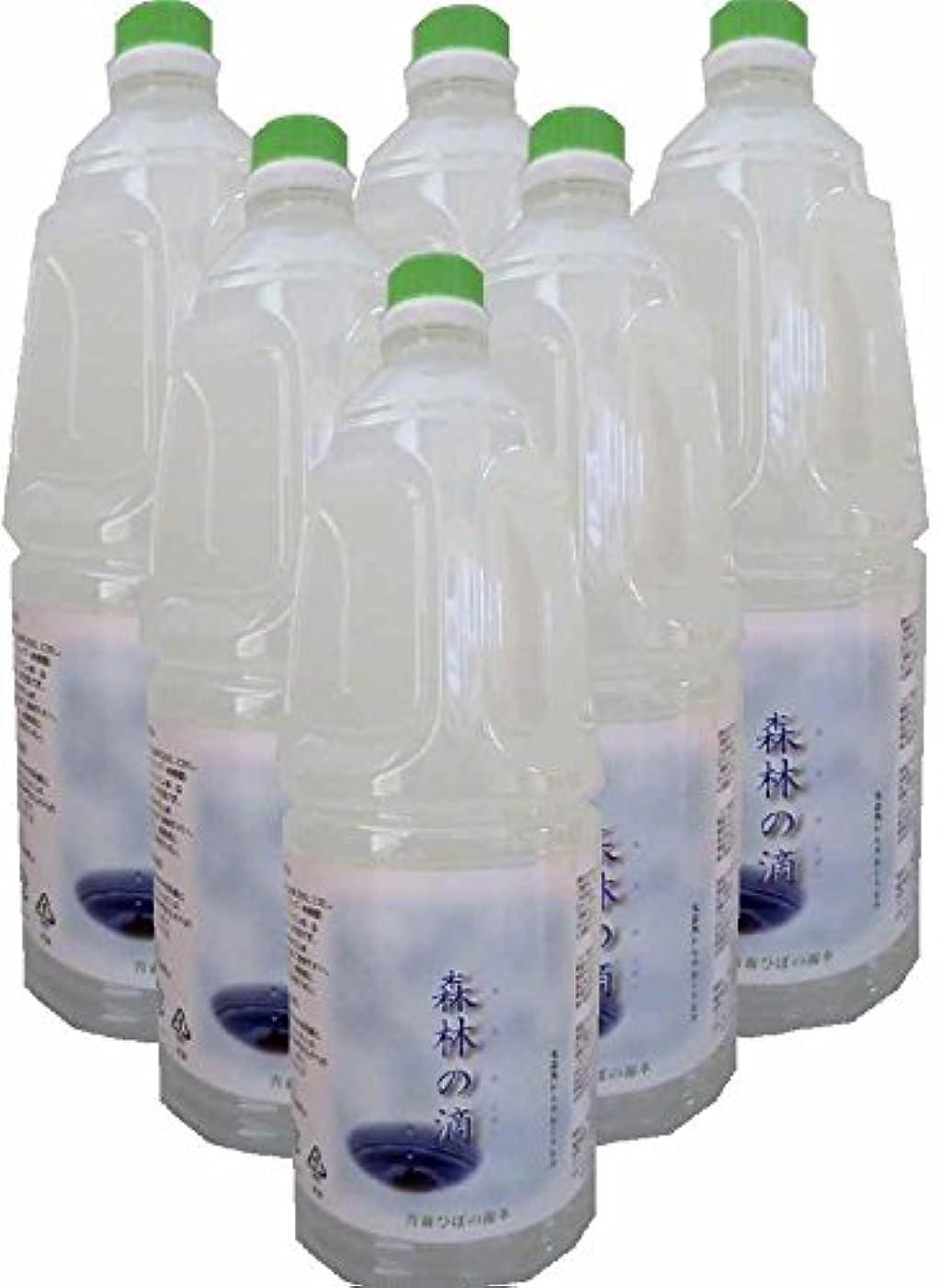 土砂降り救出考慮ヒバ水 蒸留水 (1.8L×6本)