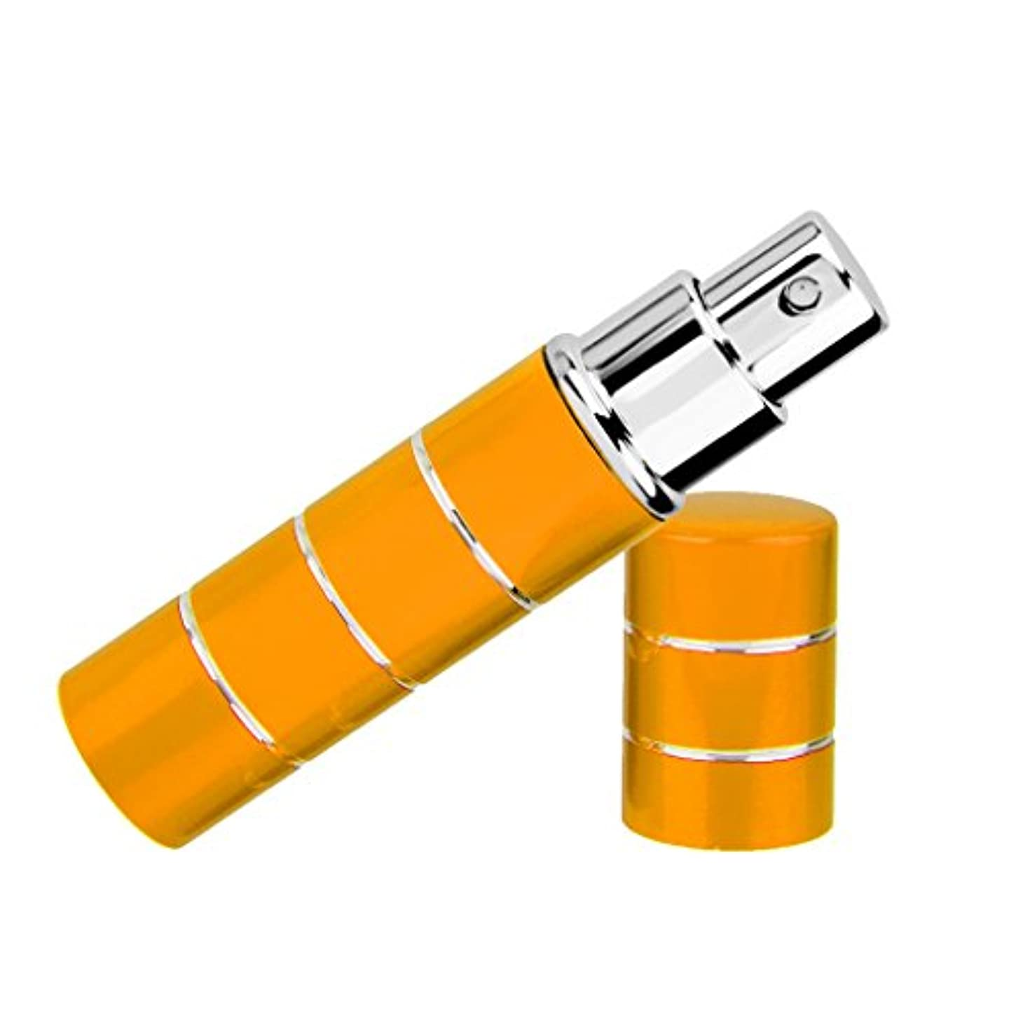 理由メロン高速道路Dovewill  旅行携帯用 ポータブル 軽量 詰め替え 香水 アトマイザーボトル ポンプ スプレーケース  - イエロー