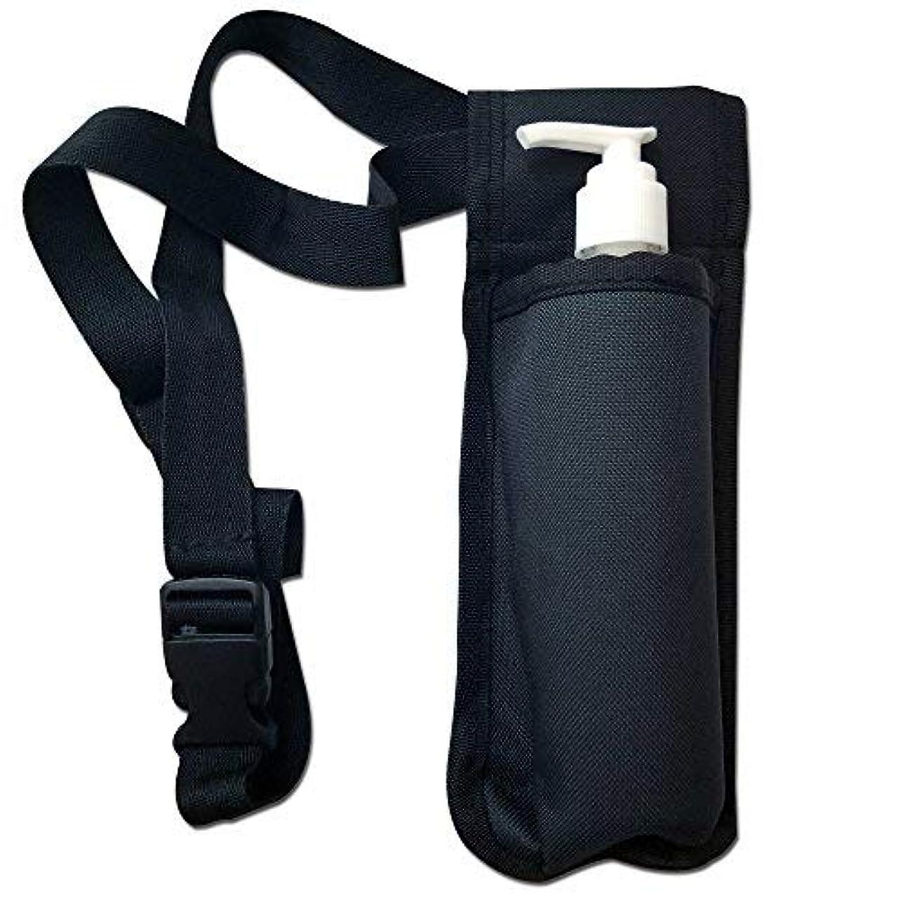赤しかしジーンズTOA Single Bottle Holster Adjustable Strap w/ 6oz Bottle for Massage Oil, Lotion, Cream [並行輸入品]