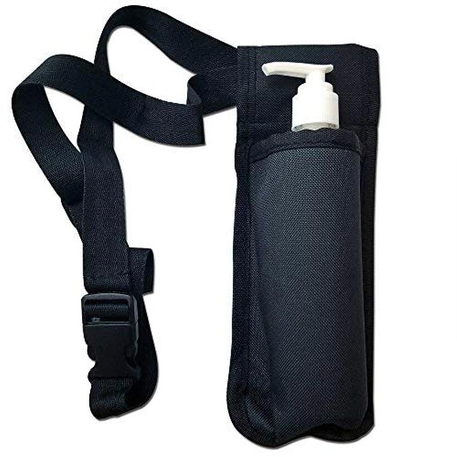 家族フロータクトTOA Single Bottle Holster Adjustable Strap w/ 6oz Bottle for Massage Oil, Lotion, Cream [並行輸入品]
