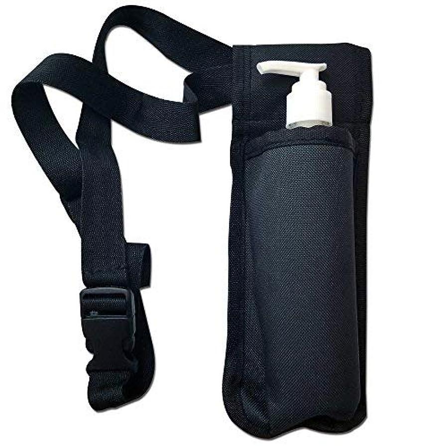 肺ドット従者TOA Single Bottle Holster Adjustable Strap w/ 6oz Bottle for Massage Oil, Lotion, Cream [並行輸入品]