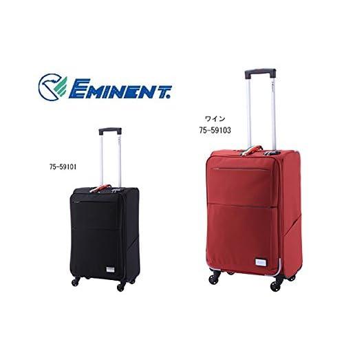 エミネント スーツケース キャリーバッグ 46L 75-59103 ワイン M 代引き不可 バッグ スーツケース mirai1-291950-ah [並行輸入品] [簡素パッケージ品]