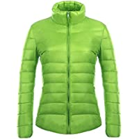 XFentech Winter Women's Down Puffer Jacket Packable Ultra Light Weight Coat