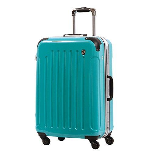 LM型 ナイルグリーン / newPC7000 スーツケース キャリーバッグ TSAロック搭載 鏡面加工 大型 (7~14日用)
