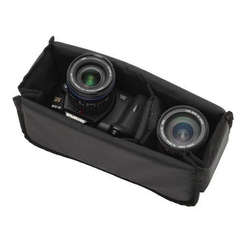 【アマゾンオリジナル】 ETSUMI インナーボックス クッションボックスフレキシブルS ブラック ETM-9860