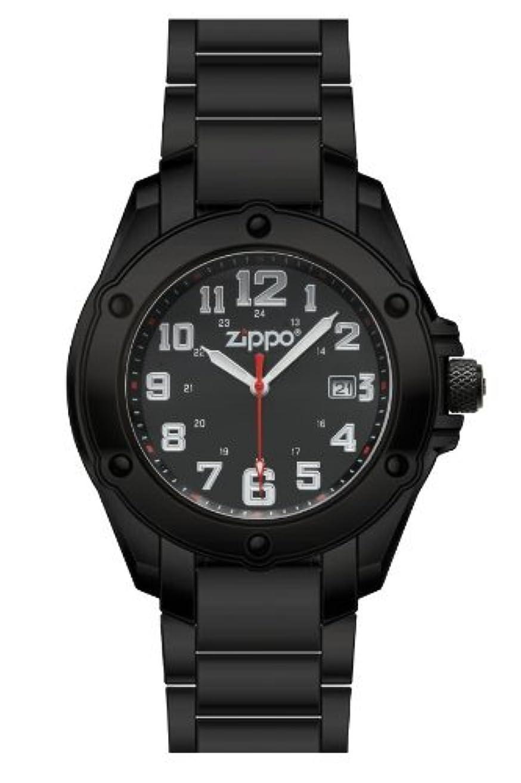 敬意を表する望む意味Zippo Watch(時計)/45023 コンパス?カラビナ?LEDライト付き [並行輸入品]