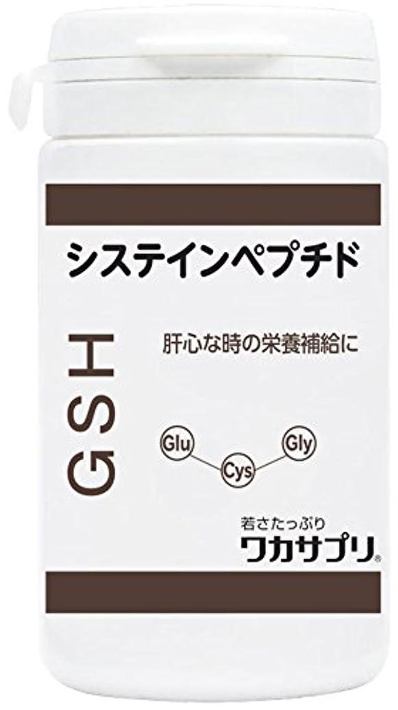 少年スクレーパータイピストワカサプリ GSH(システインペプチド) 60粒 WGS060