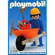 プレイモービル 工事の手押し車の人 3325