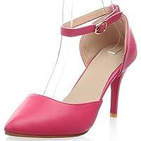 IDIFU Women's Pumps Stiletto Heels Sandals