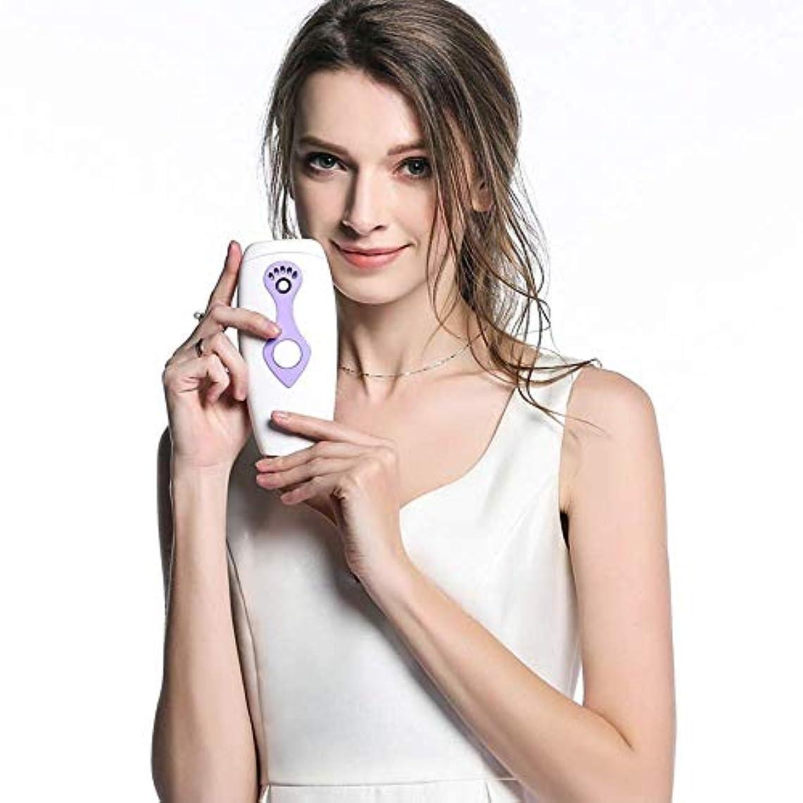 コンプライアンスアクセル割り当てTrliy- 電気レーザー脱毛器、女性および男性のための携帯用痛みのないシェーバーの永久的な毛の取り外しの器械を満たすIPL光子