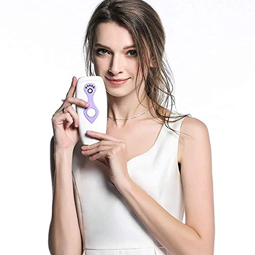 ホラー冬所持Trliy- 電気レーザー脱毛器、女性および男性のための携帯用痛みのないシェーバーの永久的な毛の取り外しの器械を満たすIPL光子