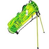 Lynx(リンクス) ゴルフ PAX パクス PAXCB-01 [イエロー] キャディバッグ スタンドバッグ透明 スケルトン キャディバック