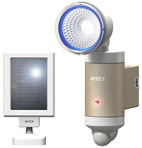 ライテックス 3W×1灯 LEDソーラーセンサーライト S-30L