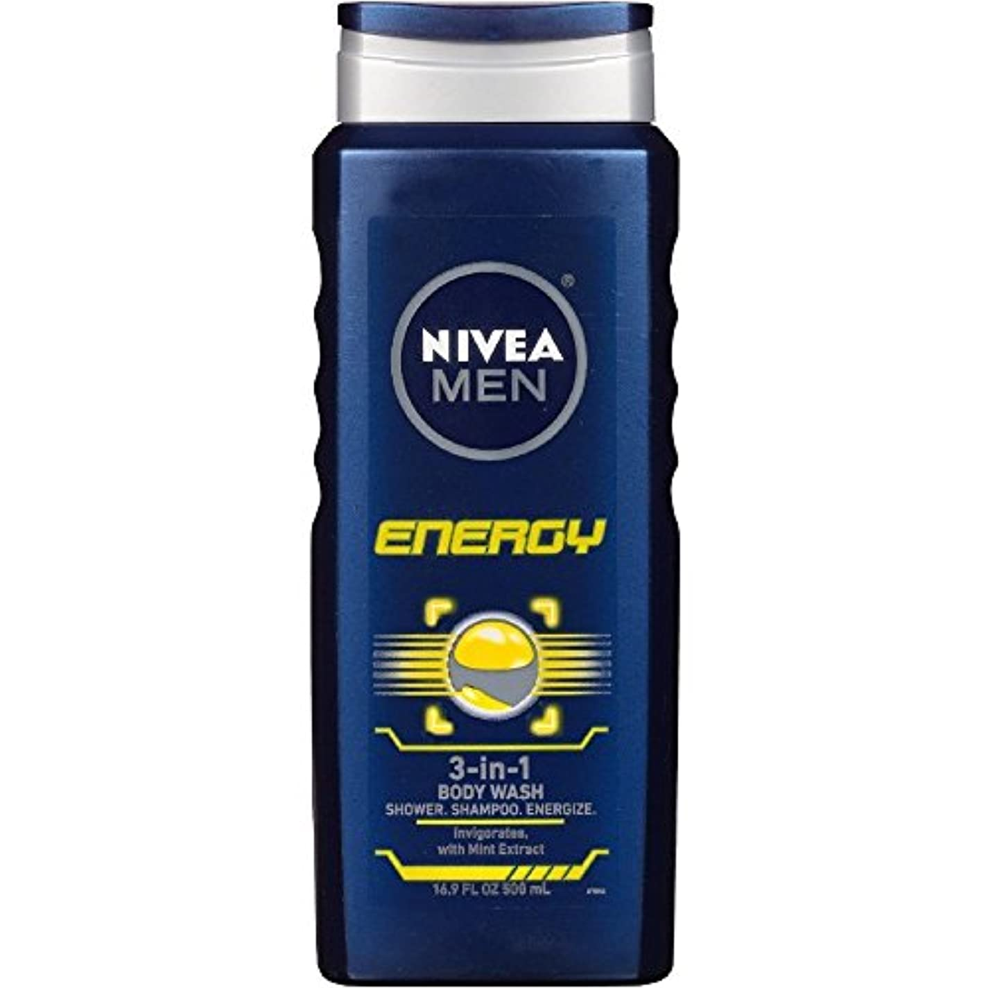 厳密にセメントチャネルNIVEA MENS BODY WASH ENERGY 16.9 OZ by Nivea Men