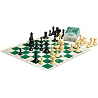 Spider & Dragon Chess Kit with The Marshall Plastic Chess Set - Pieces Only - 3.75