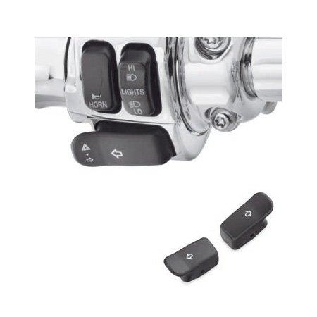 ハーレーダビッドソン/Harley-Davidson ターンシグナルエクステンションキャップ/ブラック/71500177ハーレーパーツHand Controls /CONTROLS 71500177