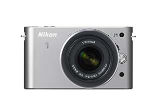 Nikon ミラーレス一眼カメラ Nikon 1 (ニコンワン) J1 (ジェイワン) 標準ズームレンズキット シルバーN1 J1HLK SL