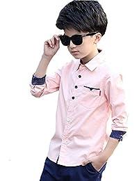 5d653597b173b YUEGUANG 子供服 男の子 フォーマル シャツ キッズ yシャツ ...