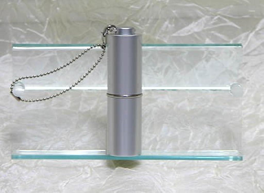 に対応する協力規定パフュームローラーストラップ プレインカラー シルバー