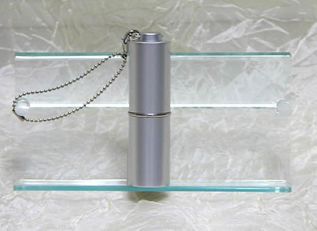 摩擦精巧な緩むパフュームローラーストラップ プレインカラー シルバー
