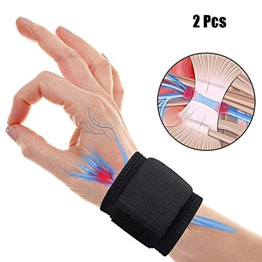 ジュースメンタルたまに手首 固定 サポーター 、関節炎および腱炎の痛みを軽減するための調整可能な手首サポート