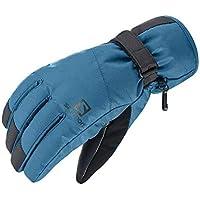 サロモン(SALOMON) スキーグローブ FORCE DRY M Black/MOROCCAN BLUE (フォース ドライ) L40420800 L