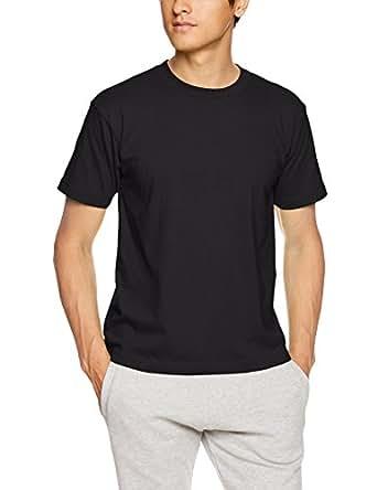 [ヘインズ] ビーフィー Tシャツ BEEFY-T 1枚組 綿100% 肉厚生地 ヘビーウェイトT 生地が丈夫で肌になじむ メンズ ブラック 日本 XS (日本サイズXS相当)