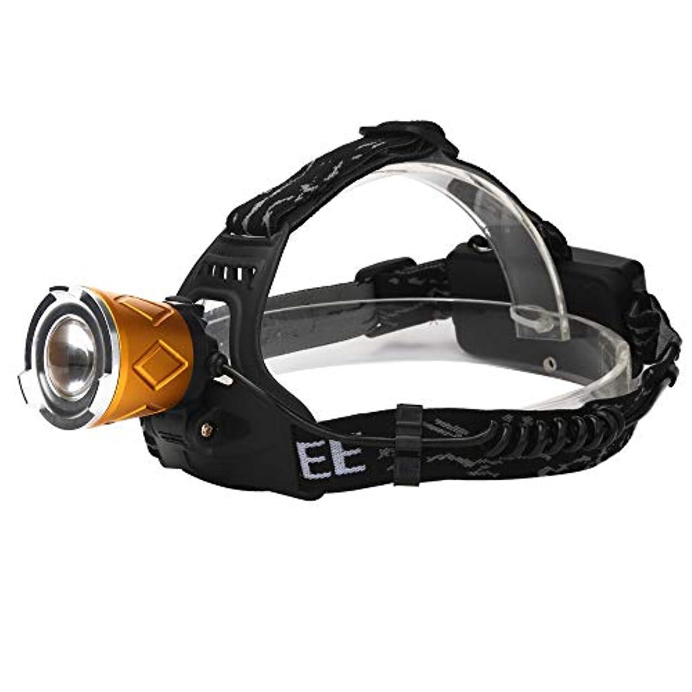 ワックスねばねばプログレッシブXM-L 2xT6 LEDヘッドランプ 可充電式 ヘッドライト グールド 綺麗 TangQI 高輝度 ズーム模式 角度調節可能 4点灯モード 防水 アウトドア キャンプ 停電時用 ハイキング サイクリング 防災 登山 夜釣り 夜間走行 ウォーキング スポーツ 野外活動 自転車 作業に適用
