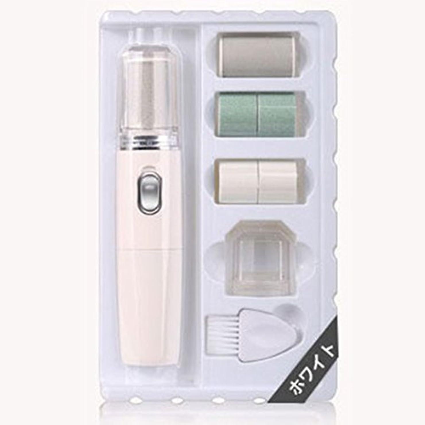 階下補充組み立てるネイルポリッシャー 乾電池式 電動 爪みがき ネイルケア 爪磨き