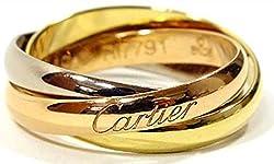 CARTIER カルティエ リング トリニティリング [リクエスト注文/選べるサイズ] Sモデル 指輪 プレゼント リクエスト 女性 レディースリクエスト販売55(15号)