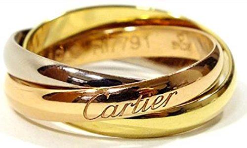 CARTIER カルティエ リング トリニティリング [リクエスト注文/選べるサイズ] Sモデル 指輪 プレゼント リクエスト 女性 レディースリクエスト販売57(17号)