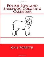 Polish Lowland Sheepdog Coloring Calendar