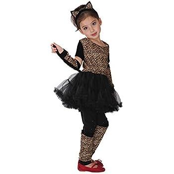 e94895c88d46d 《Princess☆MARRON》プリンセス・マロン コスプレ キッズ ハロウィン Leopard Girl♪ 子供用