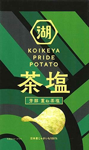 湖池屋 KOIKEYA Pride Potato 芳醇 重ね茶塩 60g ×12袋