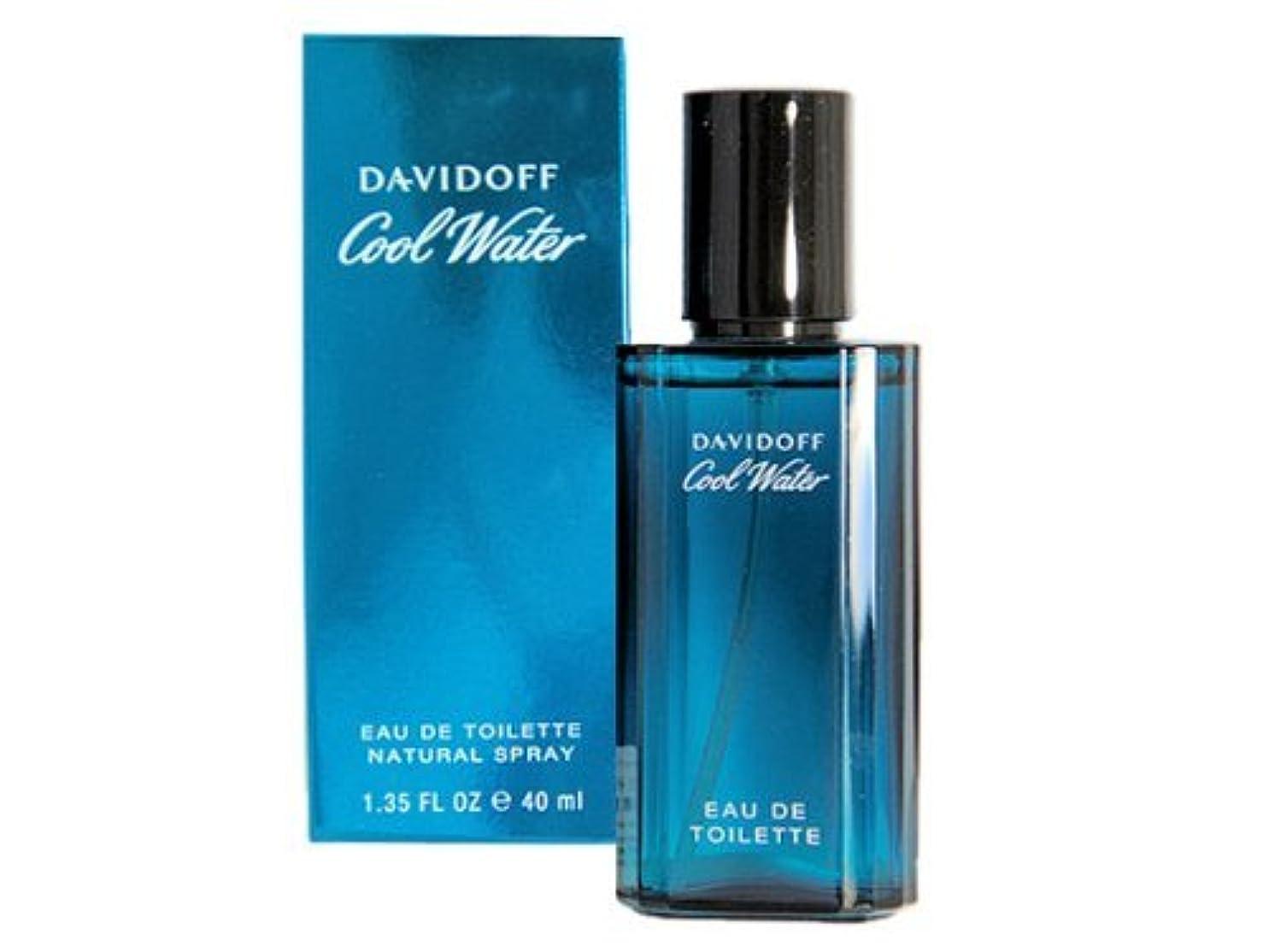プレート起きてとにかくダビドフ クールウォーター 40ML メンズ 香水 davidoff (並行輸入品)