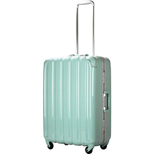 (シフレ グリーンワークス) siffler GREEN WORKS GRE1043-59 シフレ グリーンワークス スーツケース 日乃本キャスター 63L 4.4kg 3辺合計140cm (パステルグリーン)